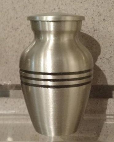 Pewter Classic with Stripes Keepsake