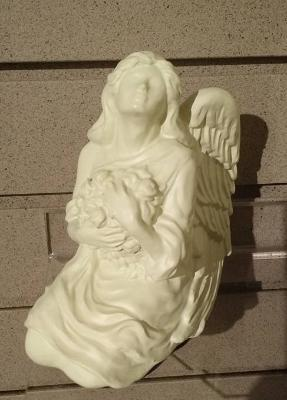 Porcelain Serenity Angel Keepsake