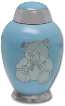 Blue Bear Infant Urn
